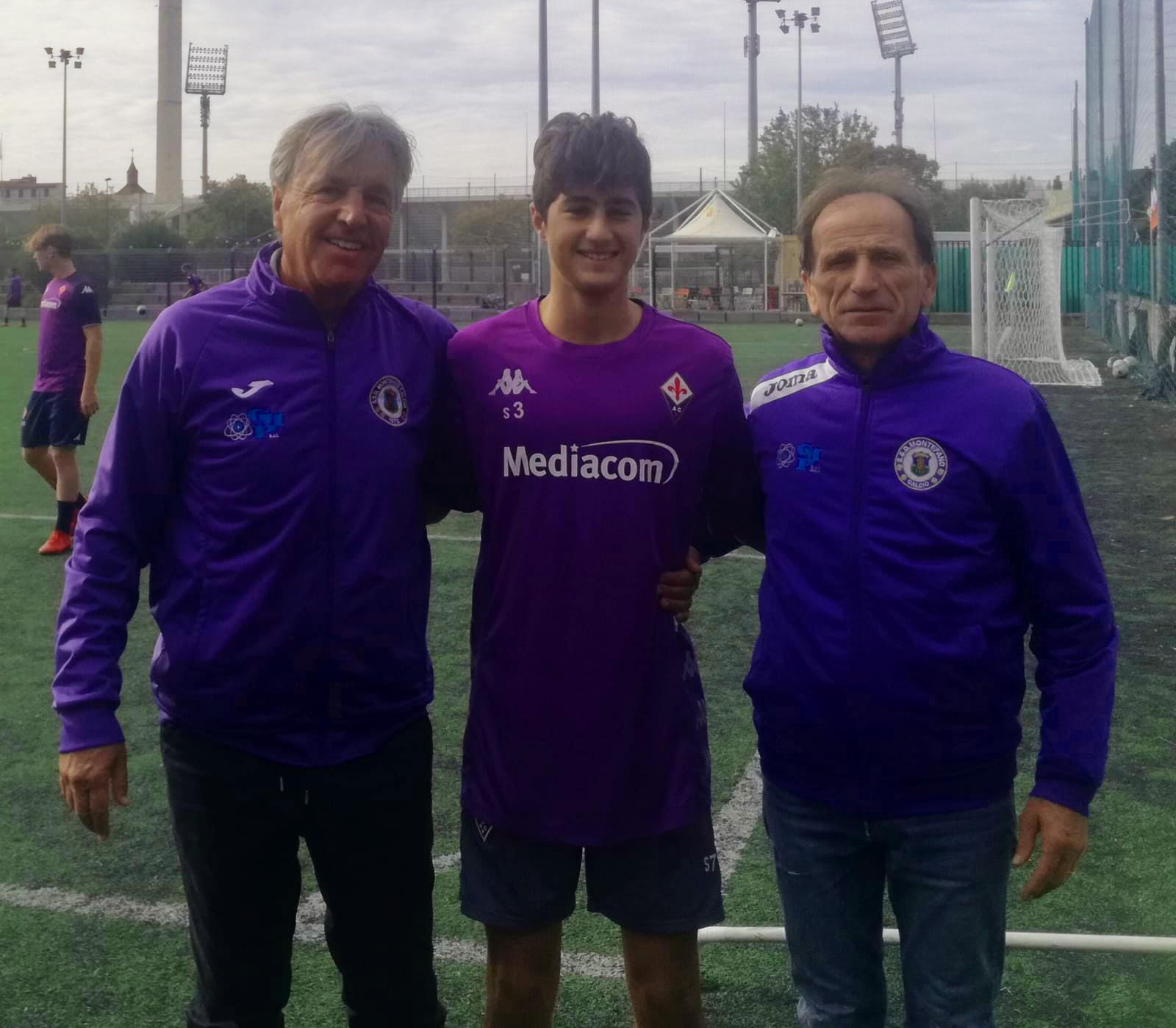 Manuel Giampaolini convocato dalla Fiorentina
